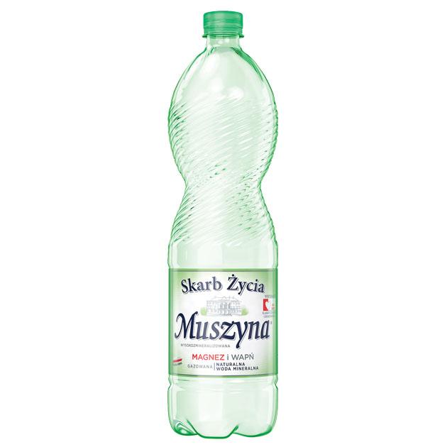 Skarb Życia Muszyna Woda Mineralna Gazowana 1.5