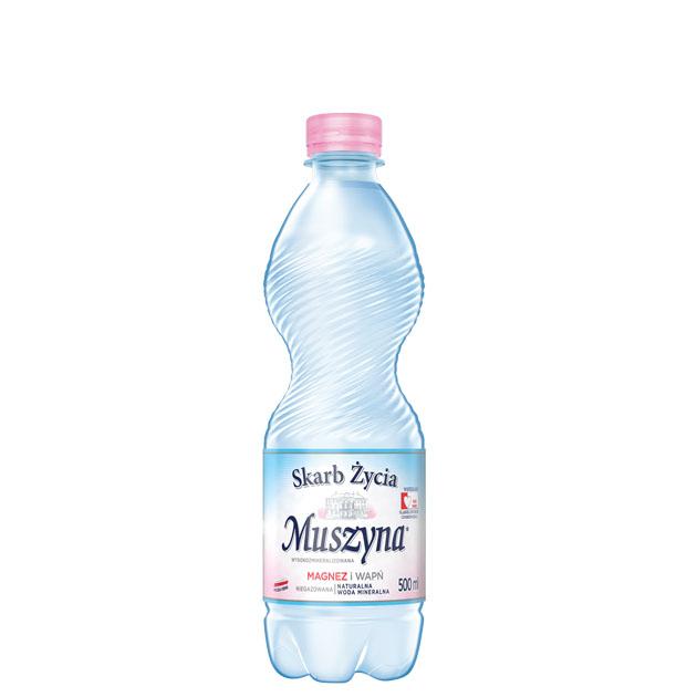Skarb Życia Muszyna Woda Mineralna Nie Gazowana 0.5