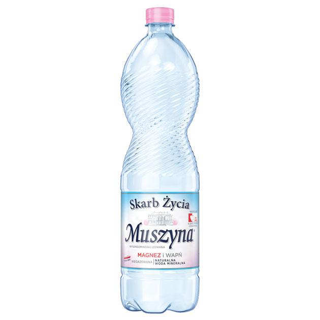 Skarb Życia Muszyna Woda Mineralna Nie Gazowana 1.5