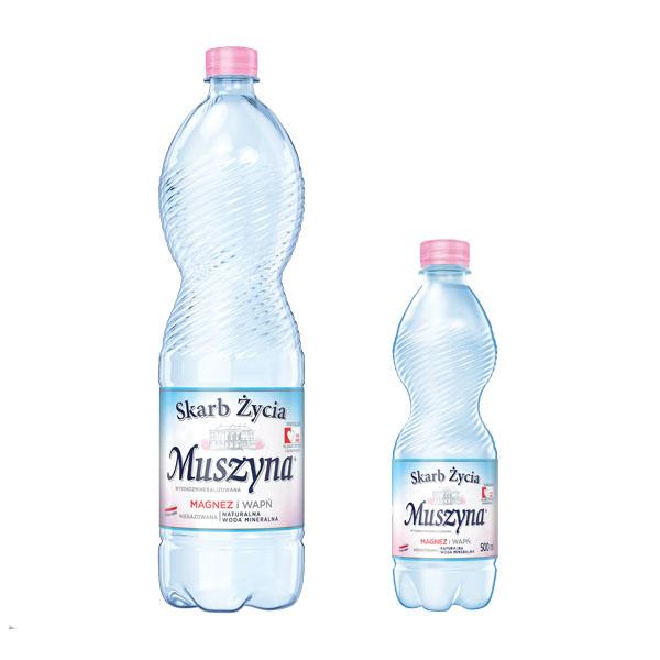 Woda Mineralna Muszyna Skarb Życia Nie Gazowana